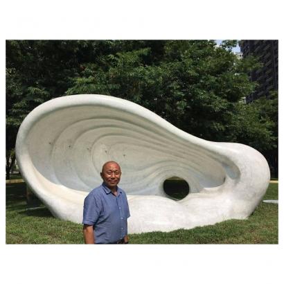 林舜龍老師與其作品和影